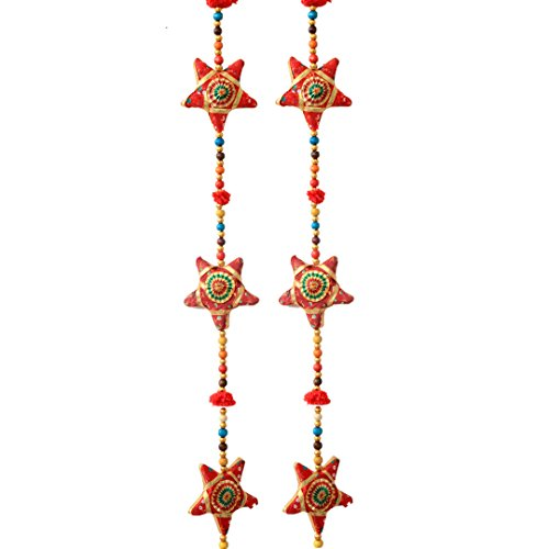 Kuber Industries™ Ethnic Home Decor and Home Decorative Rajasthani Handicrafts Star Line