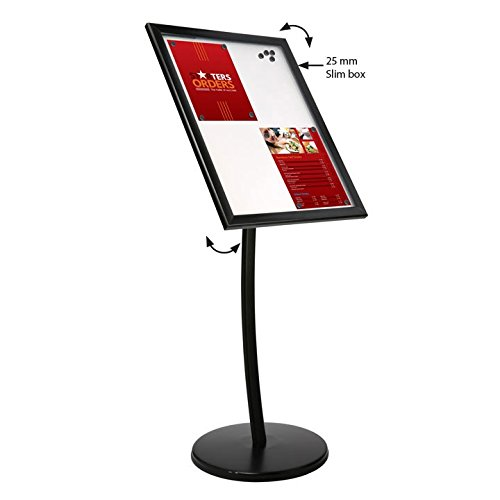 Universal Showboards on Curved Post, 3 Years Warranty (560 X 730 mm, Cork) by DisplaysMarket