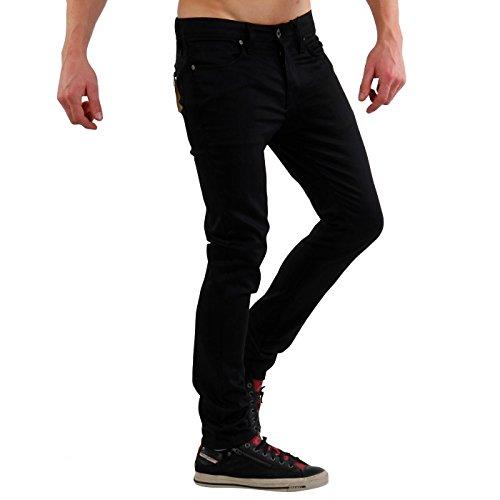 SELECTED Jack & Jones Homme Herren Jeans Hose ONE FABIOS COMFORT 1369 Black