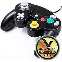 Control Alámbrico para Nintendo Game Cube Negro