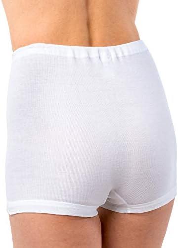 HERMKO 1650 Bragas Faja de Mujer 100% algodón: Amazon.es: Ropa y ...