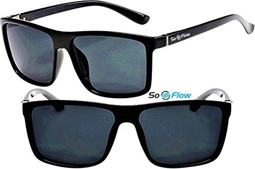 polarizadas o 4 de Polarized hombre SoFlow colores Lens Black sol mujer para rectangulares Gafas rectangulares t4ORqzW
