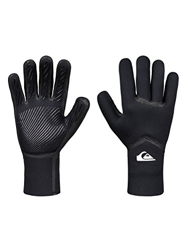 (Quiksilver 3mm Syncro Men's Watersports Gloves - Black/M)