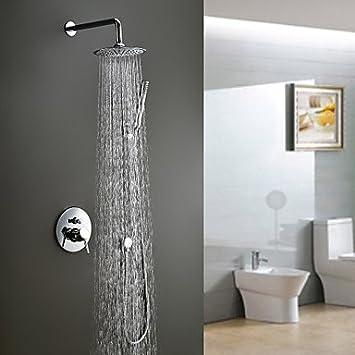 Qyp Moderne Dusche Wasserhahn Mit Einem 8 Zoll Duschen Dusche