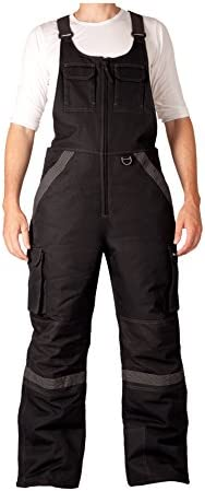 Arctix Men's Tundra Ballistic Bib Overalls With Added Visibility
