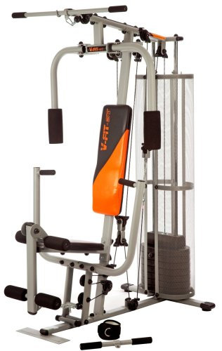 V-Fit CUG2 Herculean Compact Upright Home Gym 72kg