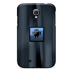S4 Scratch-proof Protection Cases Covers For Galaxy/ Hot Android Black Button Phone Cases