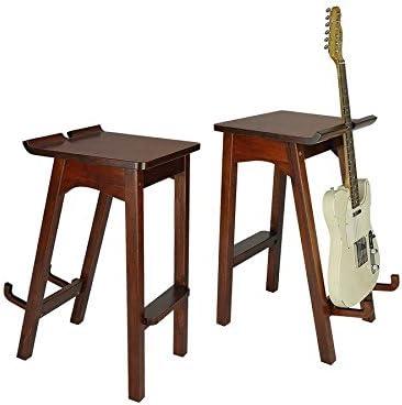 Boston Wooden Stool – Silla de madera y soporte para guitarra ...