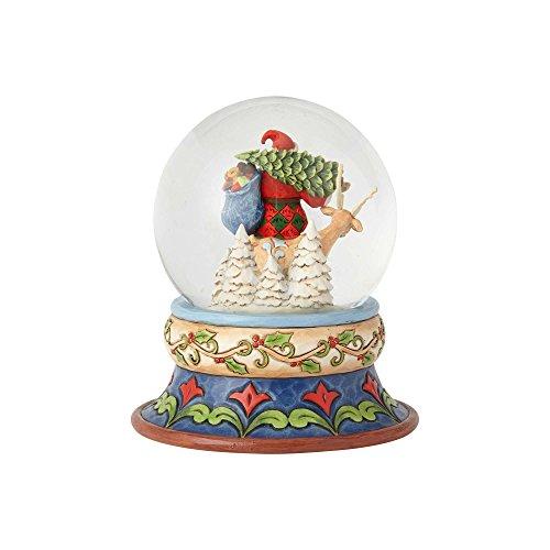 """Enesco Jim Shore Heartwood Creek """"Season of Giving 5.25"""", Snow/Globe by Enesco (Image #4)"""