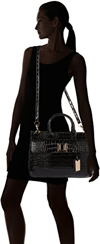 Croc Black Black Patent Tote Leather Womens SwankySwans UBxHzz