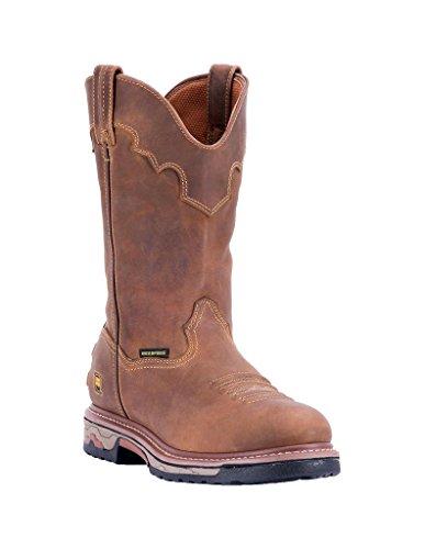 Dan Legg Menns Sal Arbeidsstøvler Lær Cowboy Boots Kompositt Tå Sal