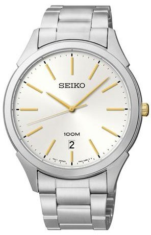 Seiko-SGEG71-Mens-Classic-Stainless-Steel-Case-and-Bracelet-Silver-Tone-Dial-Date-Display