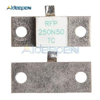 Maslin RFP 250N50F - Resistencia para microondas (250 W, 50 Ohm ...