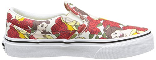 5ef2f4035edf5e Vans Disney Kids True White   Red Princess Belle Sneakers-UK 13 Kids