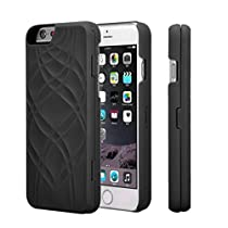 OVERMAL 2017 Flip Mirror Hard Cases Wallet Card Holder Stand Cover For iPhone 6/6s4.7Inch (Black)