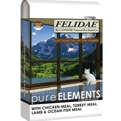 Felidae Dry Cat Food for Adult Cats and Kittens, Grain Free Formula, 8 Pound Bag, My Pet Supplies