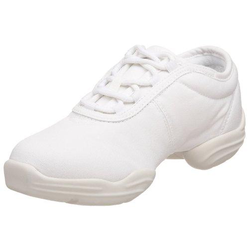 Capezio  Canvas Dance Sneaker,White,7 M US