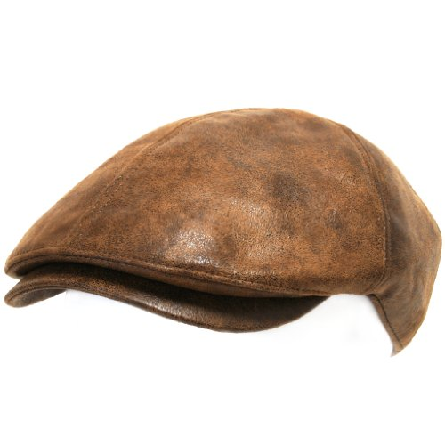 ililily Flat Cap Vintage Cabbie Hat Gatsby Ivy Cap Irish Hunting Newsboy Stretch