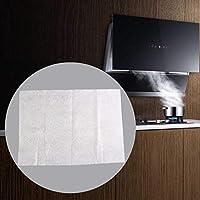 Los filtros Campana extractora de aceite, Universal Campana extractora de olores y kit de filtros de grasa, 50% difícil quemar Tejidos no y 50% poliéster reciclado, para Extractor de ventilación: Amazon.es: Hogar