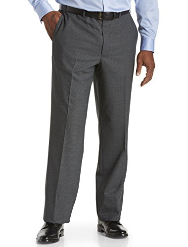 Jack-Victor-Big-Tall-Neat-Flat-Front-Pants
