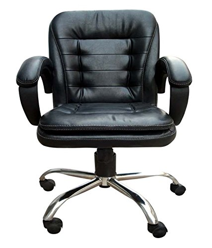 Adiko ADXNS313 Low Back Office Chair (Black)