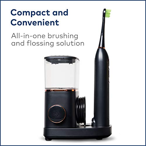 41daqYq1g%2BL - Waterpik Electric Toothbrush & Water Flosser Combo in One - Sonic-Fusion Professional Flossing Toothbrush, SF-02 Black