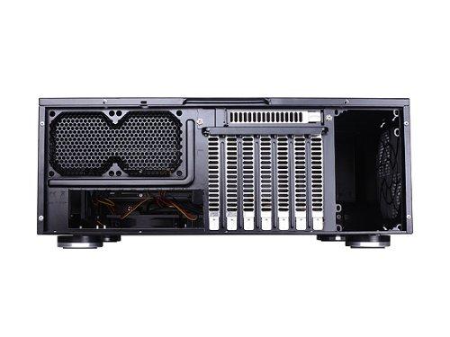 Silverstone Tek GD08B Aluminum Extended ATX / SSI-EEB compatible / SSI-CEB HTPC Computer Case Cases – Black by SilverStone Technology (Image #5)