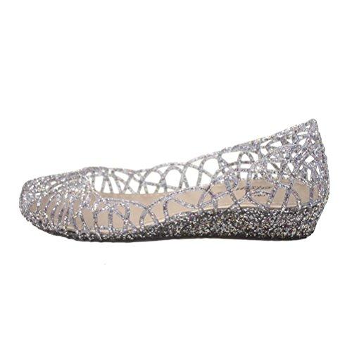 jelly ballerina shoes - 3