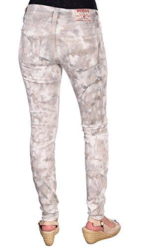True Religion Skinny Jeans HALLE SUPER SKINNY, Color: Light Grey, Size: 28