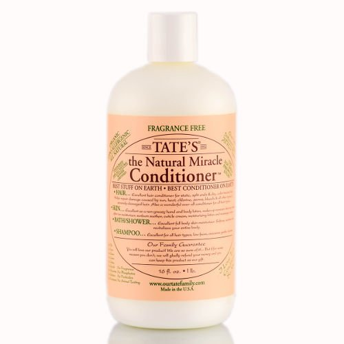 Tates Miracle Conditioner - Tate's The Natural Miracle Conditioner 100% Organic 16 oz.