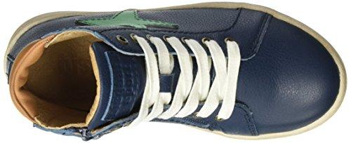 Bisgaard Schnürschuhe - Zapatilla Alta Unisex Niños Blau (600 Blue)