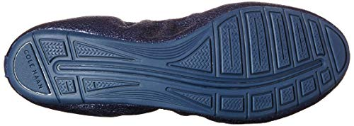 Haan Navy Metallic Cole Ballet Leather Flat Zerogrand Women's II SdwF1qC