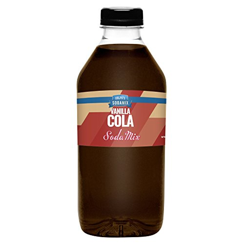 Ralph's Vanilla Cola Sodamix for Sodastream | 32oz (Quart) Bottle