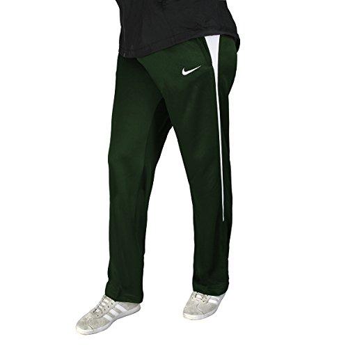 Nike Women's Mystifi Warm Up Pant, Green/White, X-Large