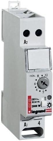Legrand Rex 900 003703 temporizador para luz de escalera 230 V por Legrand: Amazon.es: Hogar