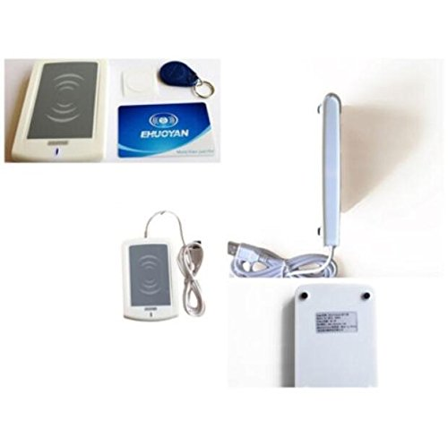Akozon RFID 13.56Mhz 14443A Reader/Writer USB Tags SDK & Program dht USB SDK EReader V4.2