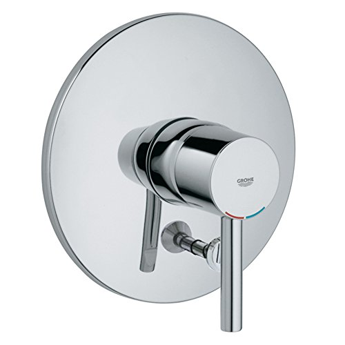 Essence Single-Handle Pressure Balance Diverter Valve Trim with Lever Handle - Grohe Essence Pressure Balance