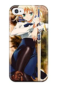 ZippyDoritEduard Case Cover Protector Specially Made For Iphone 4/4s Fate Stay Zero
