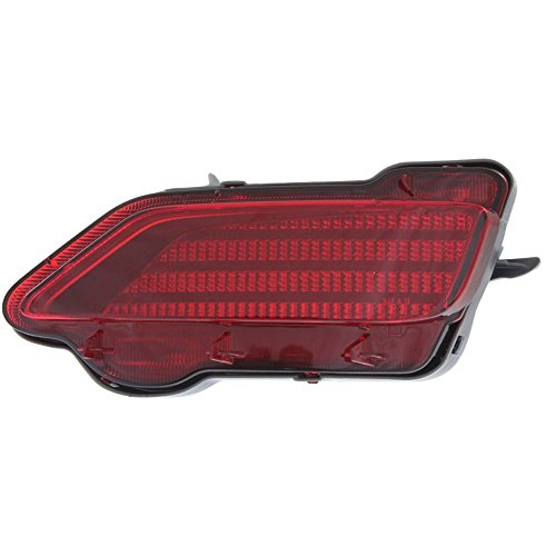 Evan-Fischer EVA239062114300 Bumper Reflector Rear Light Lamp Right Side for Rav4 13-15 (Side Rear Reflector Right)