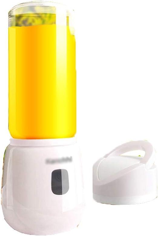 FSRMLEG Mini licuadora portátil para el hogar, Taza de Jugo ...