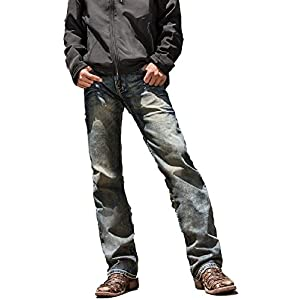 B. Tuff Western Denim Jeans Mens Casey Bootcut Relaxed MCASEY