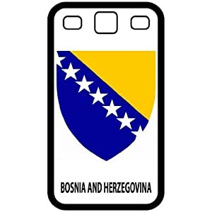 Bosnia And Herzegovina - Country Coat Of Arms Flag Emblem Black Samsung Galaxy S3 i9300 Cell Phone Case - Cover