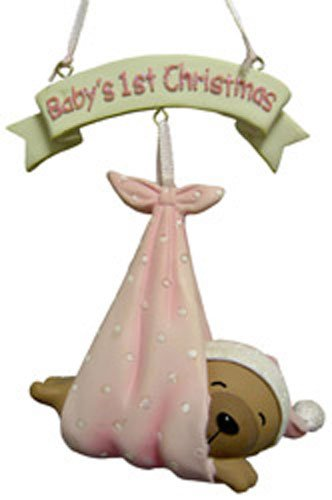 First Christmas for Sweet Little Baby Bear Ornaments for Girls [7112252P] (Northstar Ornament)