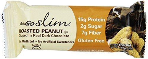 NuGO Slim Roasted Peanut, 1.59-Ounce by NuGo