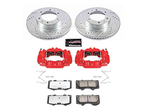 (Power Stop KC137-36 Front Z36 Truck and Tow Brake Kit with Calipers)
