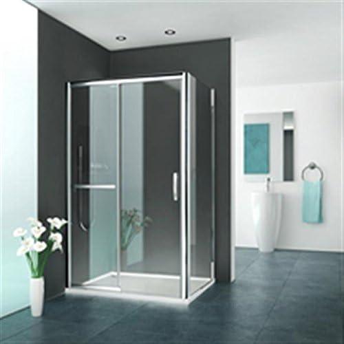 rothalux – Mampara de ducha para montaje fijo con mampara de ducha ...