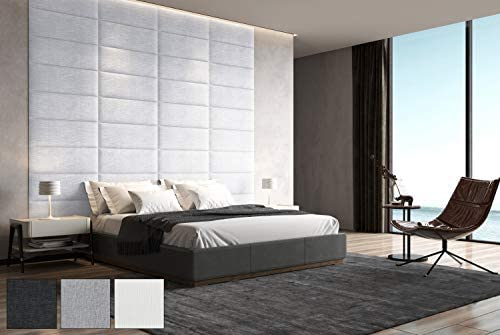 Art3d Upholstered Wall Panel Headboard Removable Review