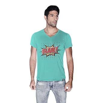 Cero Blam Retro T-Shirt For Men - Xl, Green