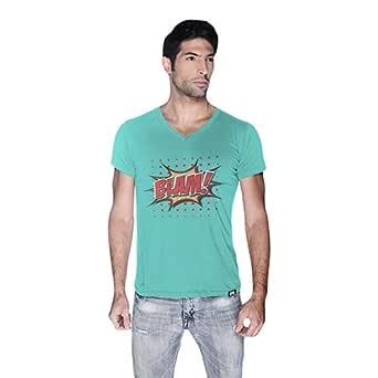 Cero Blam Retro T-Shirt For Men - M, Green