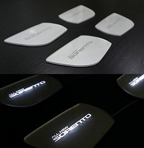 Sell by Automotiveapple, DXSOAUTO LED Inside Door Catch Plate DIY Kit White 4-pc Set For 2016 Kia Sorento : ALL NEW SORENTO